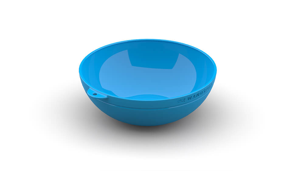 Clipcroc™ Bowl in Sky Blue by WandsPro