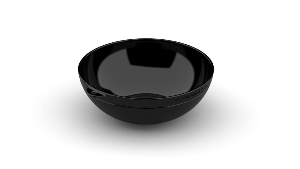 ClipCroc Bowl in Midnight Black by WandsPro