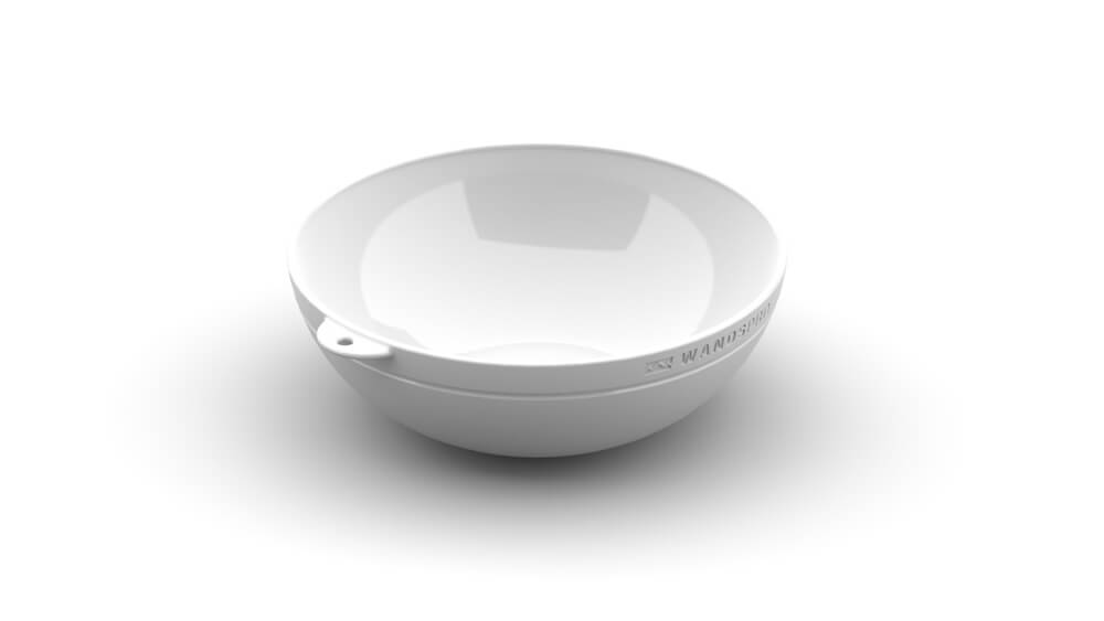 ClipCroc Bowl in Ice White by WandsPro
