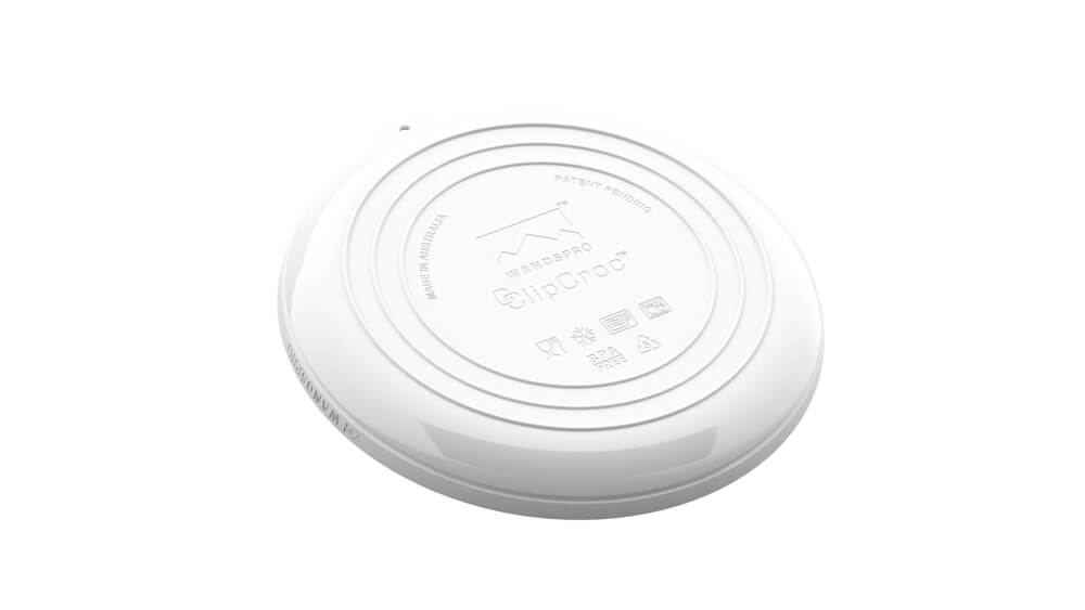 ClipCroc Dish in Ice White by WandsPro
