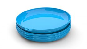 ClipCroc Dish Set in Sky Blue by WandsPro